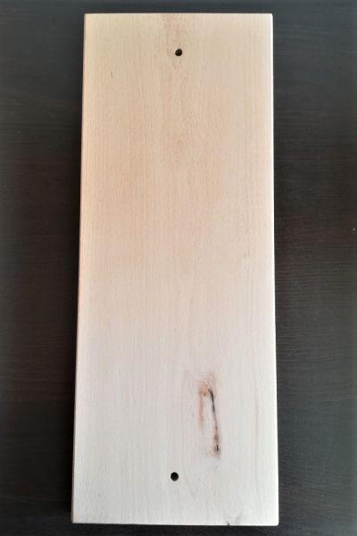 Buchenbrett 190x495x20 geschraubt b-ware