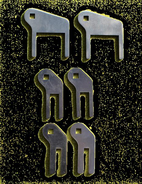 Halter - Nutbreite (Paar)